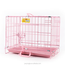 Foldable Luxury Rabbit Cage Cheap Wire Metal Cage For Small Pet Dog