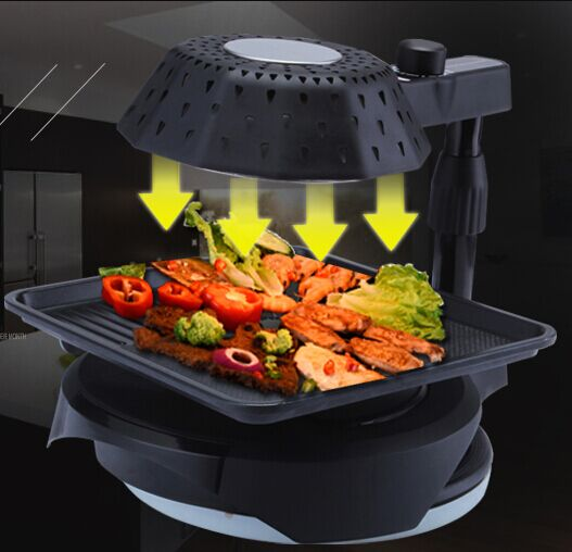 2016 new items smoke free infrared bbq machine /steel barbecue grill