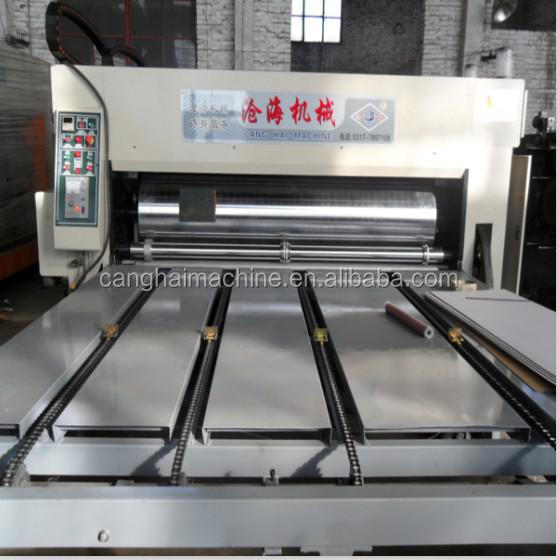 High Speed Multicolor Flexo Ink Printing Die Cutting Machine Corrugated Carton Box Printing Machine
