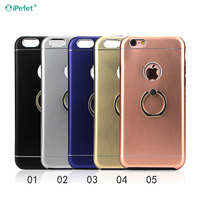 Hot Selling High Quality Hybrid Combo Aluminum Metal Finger Ring Cover for iphone