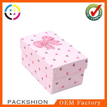 Lovely handmade wedding sugar box from china packaging manufacturer