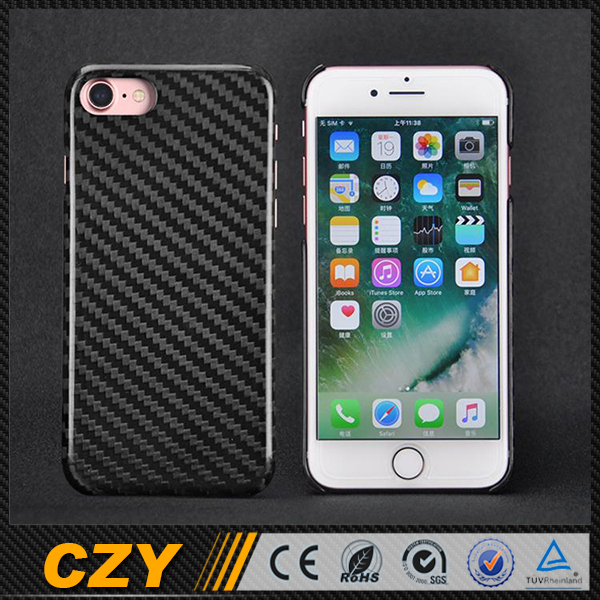2016 New Dry Carbon Fiber Phone Cell Cases for Iphone 7 for Apple 7