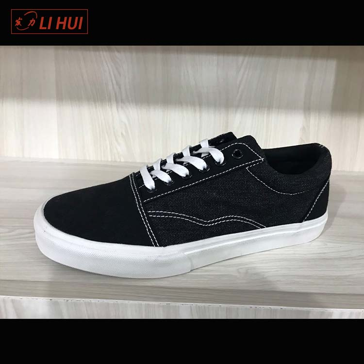 ankle length China campus low price fashion mens canvas shoes bulk