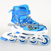 GX-1302 in-line speed skates boots with ABCE-7 bearing