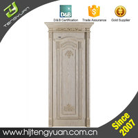 Customized Style Man-made Antique Solid Interior Wood Door