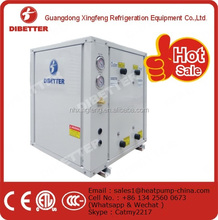 air cooled water chiller or water water heat pump and geothermal heat pump