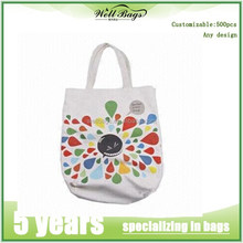 Factory price eco custom printed tote canvas bag cotton