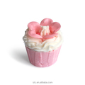 wedding return gift with cupcake shape rose bath fizzer for guest