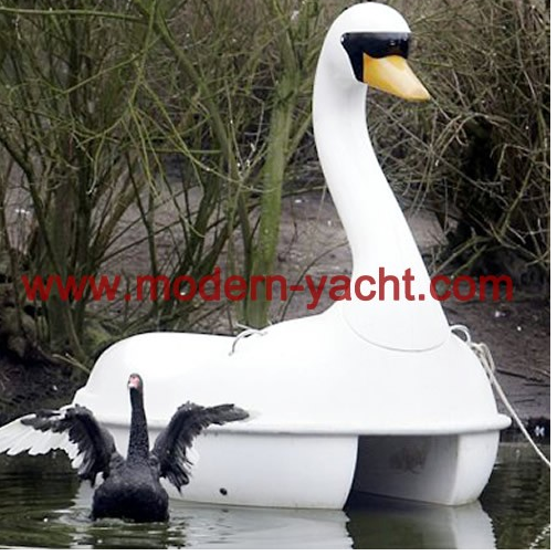 China manufacturer swan water pedal boat for sale