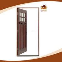 China 2016 New Design Interior pvc coated mdf wooden entry door use for modern house