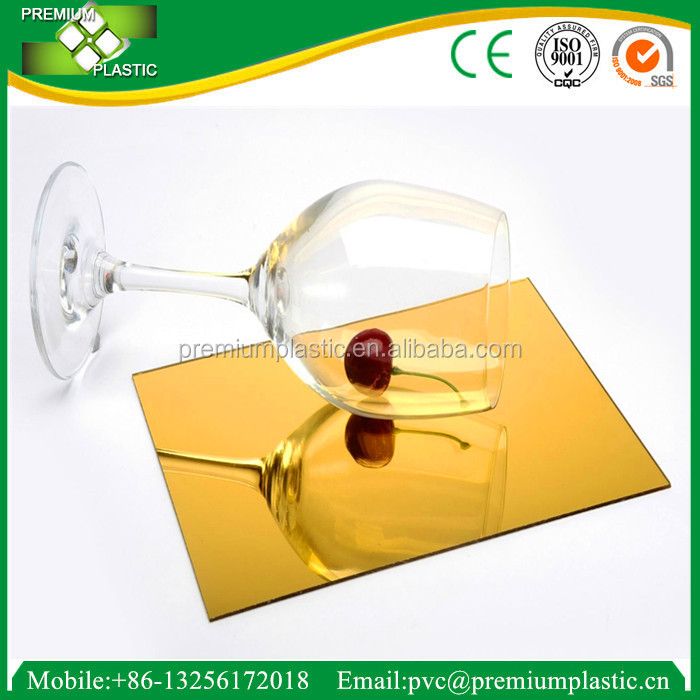 Colorful Eco-Friendly 10mm Mirror Cast Acrylic Sheet and Board/Plexiglass/Perspex Sheet