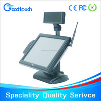 15 inch certificated infrared IR touch screen POS display with good quality