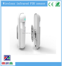 DZX-ID02 Wireless GSM Home Alarm System PIR Infrared Sensor Motion Detector Anti-theft Infrared GSM pir Alarm