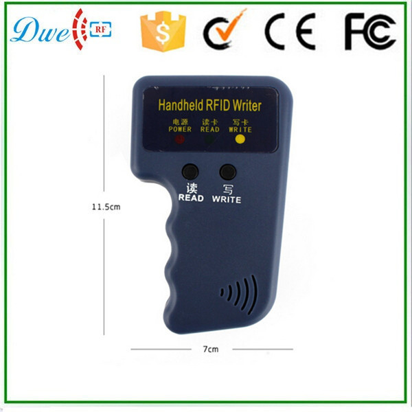 Wholesale RFID Handheld 125KHz EM4100 ID Card Copier Writer Duplicator