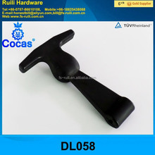 T-handle rubber latch with steel base