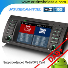 "Car DVD System Erisin ES3761B 7"" Android7.1 Audio GPS for E39 E53 Radio,DVR,DTV"