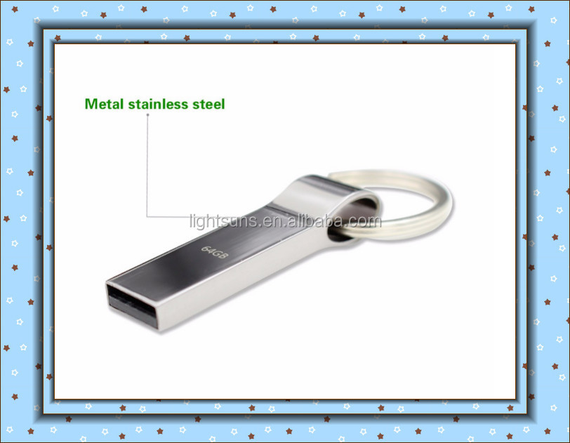 Hot sell new usb flash drive 64GB 32GB 16GB 8GB 4GB pen drive pendrive metal silver u disk memory disk usb 2.0