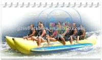 2011 fish shape Qi Ling inflatable banana boat