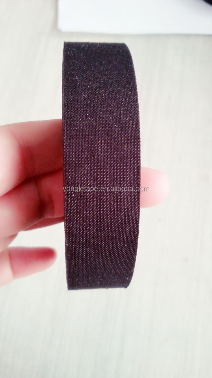 black cloth wire harness polyester fleece tape/density polyester tape