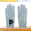 Light Blue Cabretta Leather Golf Glove