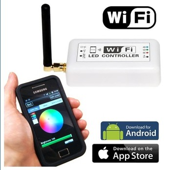 WIFI LED Controller for Android/ Iphone/ Ipad