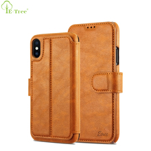 Original High Quality Luxury Flip Cover Stand Wallet Leather Phone Case For Apple iPhone X