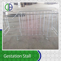Pig Farm use equipment sow pens Galvanized Pig Gestation Stall for sows