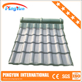 spanish pvc roofing tile/ASA+pvc roof tile 1050mm/resisdence roof sheet