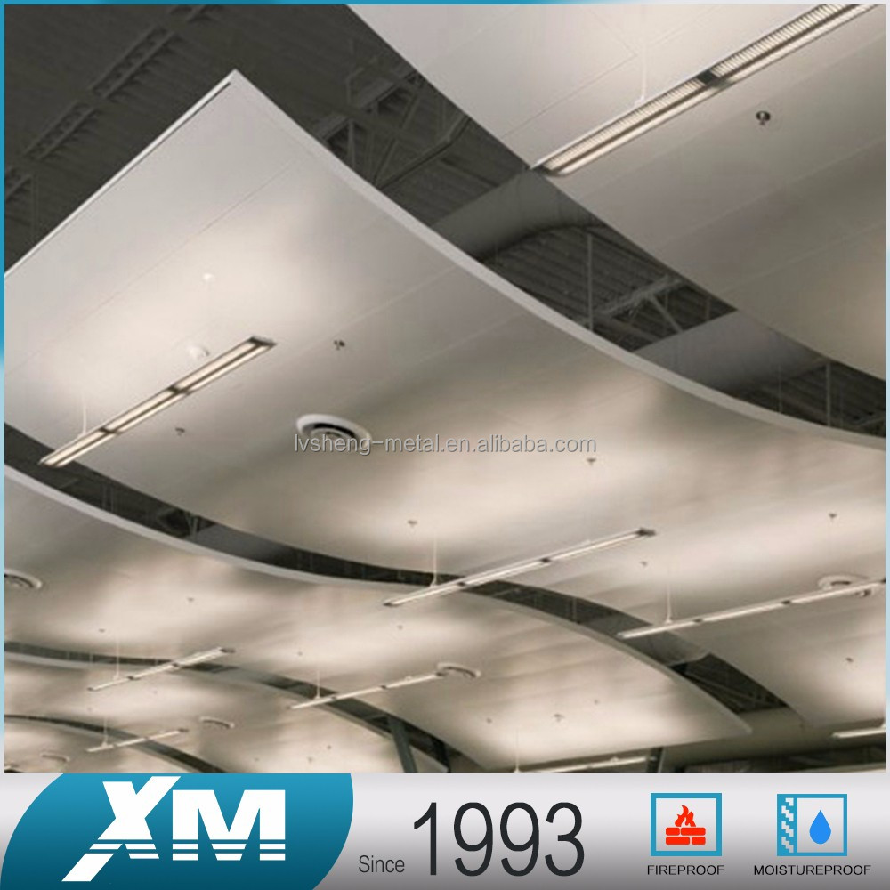 2016 simple style design tiles false office ceiling panels