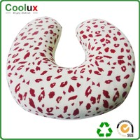 wholesale terry cloth neck pillow , plush neck roll pillow
