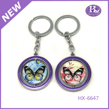 HX-6647 Round best friend nice handmade keyrings wholesale