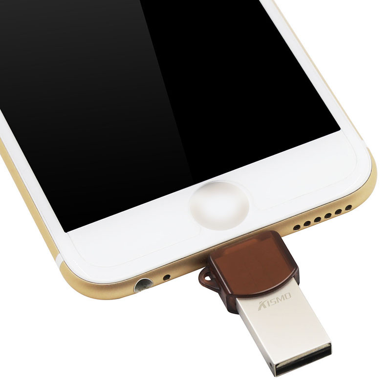 Top Sale Hot Sale Metal USB Drives USB Flash Sticks For iPhone/PC High-end metal USB Flash Drive