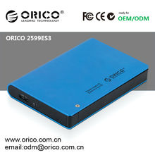 ORICO 2599ES3 2.5'' SATA HDD external enclosure , Password protection and hardware encryption Security Hard Disk Drive Storage