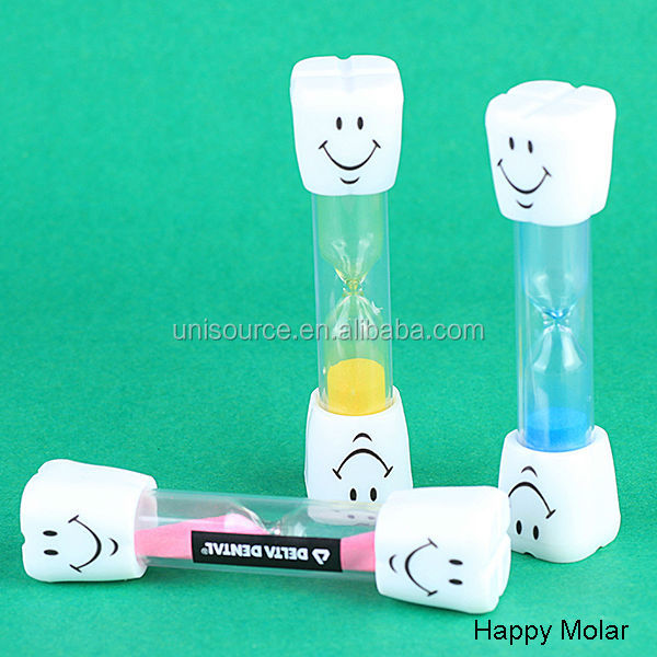 Happy Molar Plastic Sand Timer Hourglass