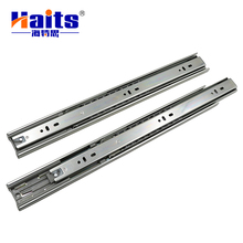 45mm 3-fold full extension zinc plated soft closing drawer slides,drawer runner