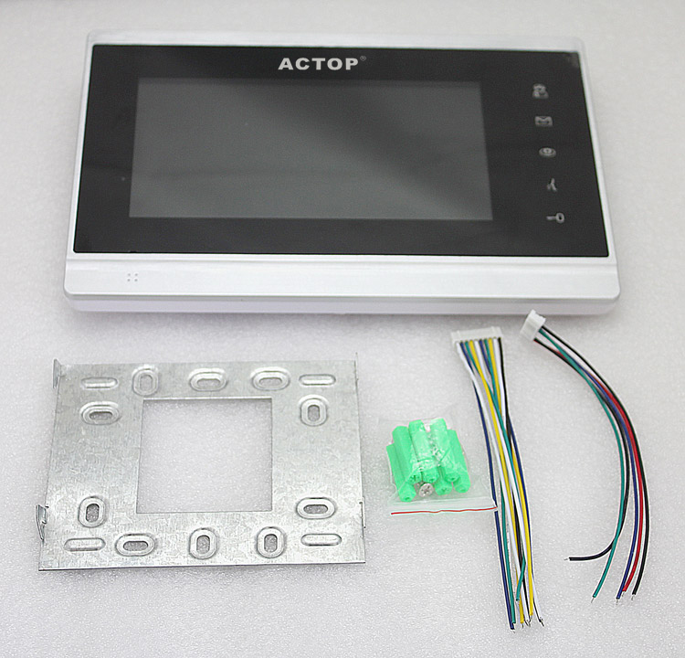 ACTOP TCP/IP video door bell for multiple building intercom system