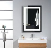 FARLO wall bath frameless mirror mounting hardware