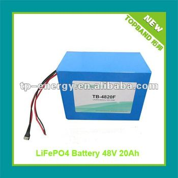 2012 New Arrival LiFePO4 48V Scooter Battery with PCM/BMS+Charger