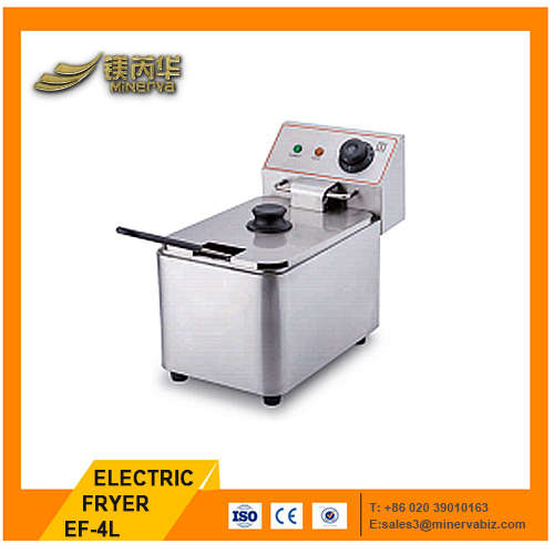 4L HOME Electric Deep Fryer Benchtop electric fried chicken machine