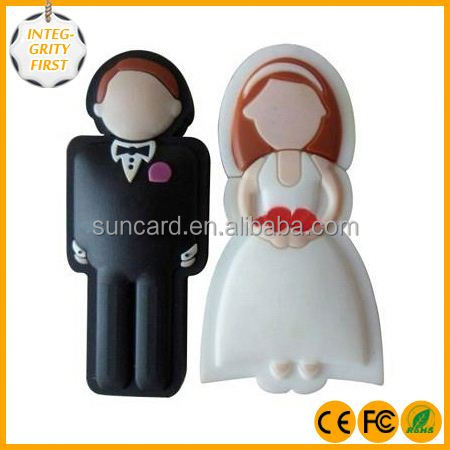 Wholesale custom wedding gift usb pen drive with free sample from China
