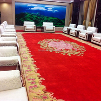 Celebrity Red Carpet in Acrylic Fibers & New Zealand Wool Material Hand-made Woollen Carpet Special Handwork Rug
