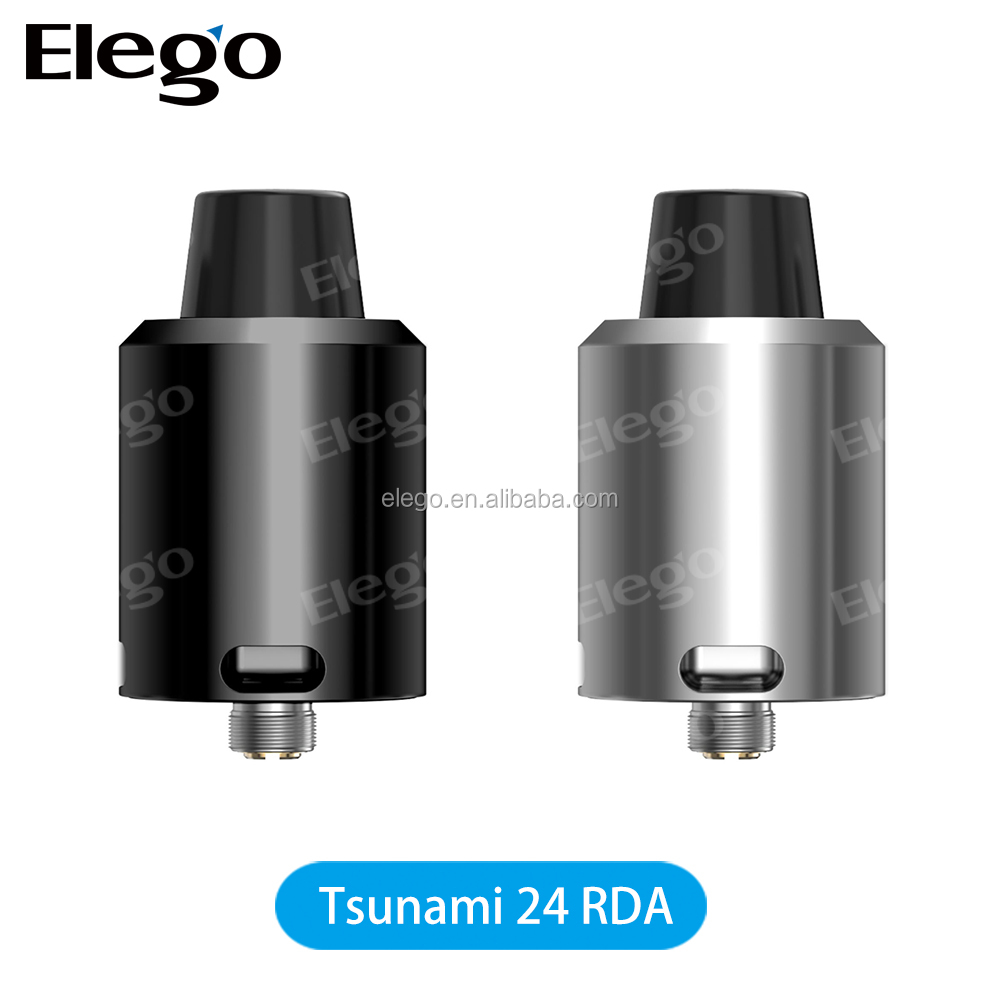 Elego Wholesale Geekvape New RDA Tsunami 24 RDA With Upgraded Velocity Style Deck Geekvape Tusnami 24 RDA