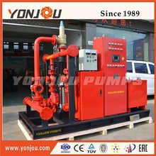 fire fighting high pressure water pump with engine