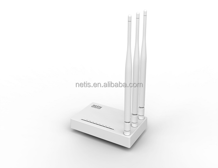 netis N300 Wireless Router with 5dBi Antennas