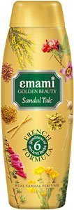 Emami Golden Beauty Real Sandal Talc product