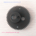 sintered black idler wheel by powder metallurgy