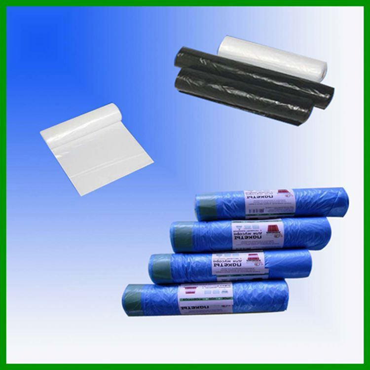 plastic wasted garbage bag NO.909 ldpe recycled garbage bags
