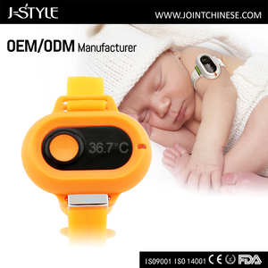 J-style baby digital thermometer app high low temperature remind for baby thermometer