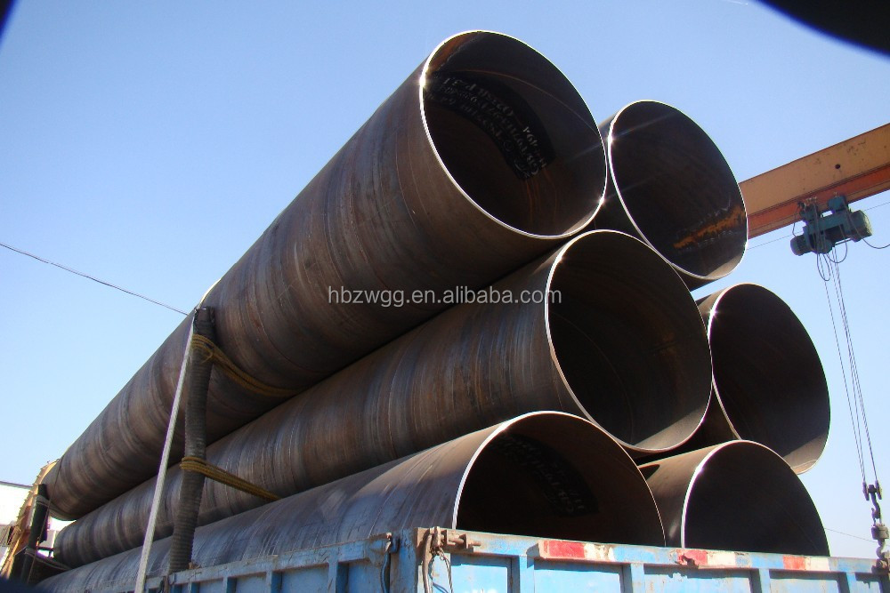 api 5l welded spiral pipe