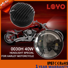 "Factory bulk price Special Bike led headlight 5.6"" and 5.75'' High/Low Beam Headlight motorcycle for Harley Davidson"